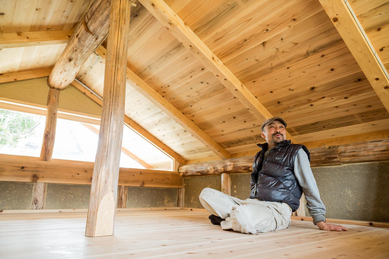 築130年の茅葺き民家を修復