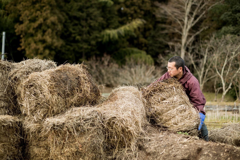 農業をしながら自然食品を販売