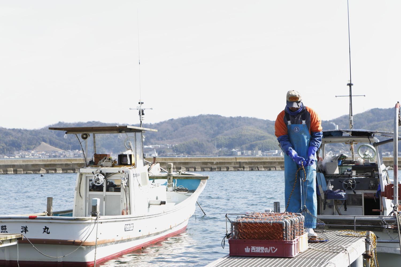 地元の海で漁師の道へ