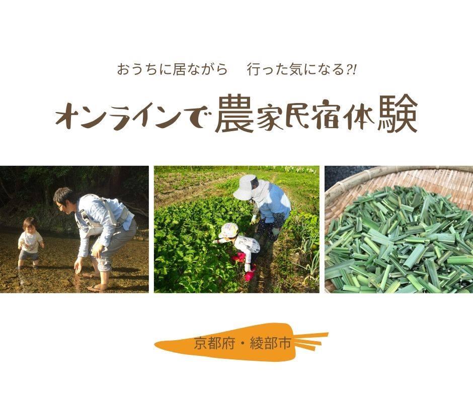 オンラインで農家民宿体験